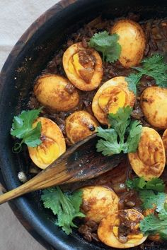Indian Onion and Yogurt Egg Curry | Girl Cooks World