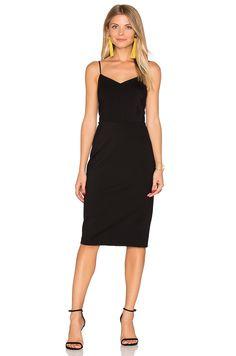 1. STATE Strappy Slip Dress in Rich Black | REVOLVE