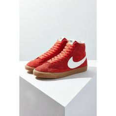 d4f8bbb0cd28 Nike Blazer Mid Vintage Suede Sneaker ( 100) ❤ liked on Polyvore featuring  shoes