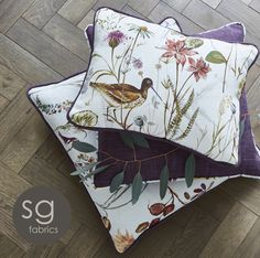 New ranges from Stuart Graham Abbey Gardens Stuart Graham, Making Faces, Butterfly Chair, Renaissance, Home Goods, Cotton Fabric, Throw Pillows, Interior Design, Antiques
