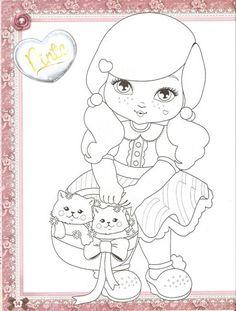 Desenhos da Jolie Tilibra para colorir bem bonito   Desenhos e Riscos - Desenhos para colorir