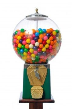 An Antique Gum Ball Machine