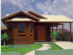 casa madeira pré-moldada