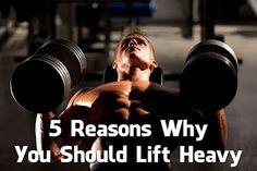 5 benefici dell'allenamento con pesi!