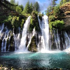 Mcarthur Burney Falls In Northern California