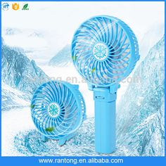 Portable Hand Held Electrical Folding Mini USB Fan Rechargeable