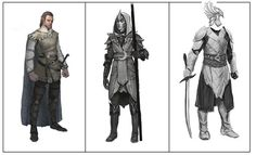 LOTRO High elf concept art