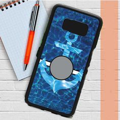 Monogram Anchor Water Samsung Galaxy S8 Plus Case Dewantary