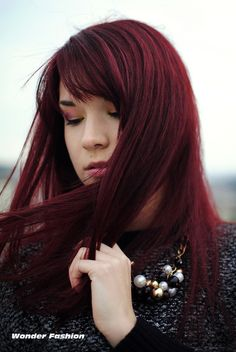 I absolutely love this hair color! Maybe I'll try it one day