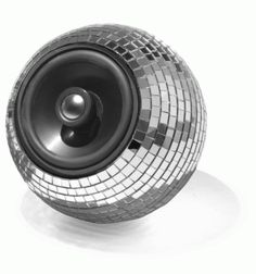 disco ball speaker!