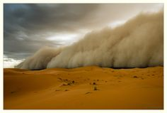 Sandstorm in Morocco by Peter Vruggink #morocco #sahara #desert Maroc Désert Expérience tours http://www.marocdesertexperience.com