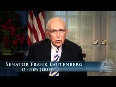 "Senator Frank Lautenberg, who introduced the ""Safe Chemicals Act of 2011"", which would require- for the first time- that chemical manufacturers demonstrate the safety of industrial chemicals used in everyday household products."