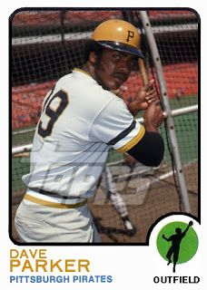 1973 Topps Dave Parker Cards That Never Were Soccer