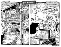 Mice Cartoon, Kompas 26 Mei 2014: Air Mineral Air Mineral, Design Thinking, Just For Fun, Minerals, Projects To Try, Cartoon, Meme, Funny Things, Mirror