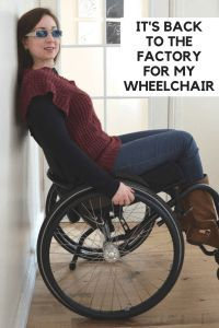 Want to know why my wheelchair had to go back to the factory and what wheelchair services loaned me in the mean time? Find out here!
