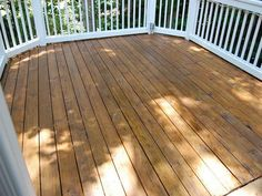 Cabot Deck Stain In Semi Solid Bark Mulch Half Stained Best Deck Stains Pinterest Barking