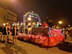 Christmas Parade float - Rockin' Rudolph.  Float won 1st Place.