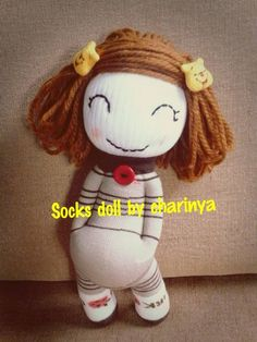 Pet Toys, Doll Toys, Baby Dolls, Sock Crafts, Cardboard Toys, Sock Dolls, How To Make Toys, Operation Christmas Child, Sock Animals