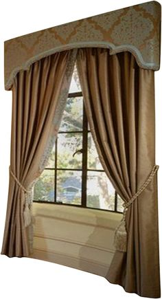 Details of European style homes. 59 Unique Decor Ideas That Will Make Your Home Look Great – Details of European style homes. Pelmet Designs, Cornice Design, Drapery Designs, Diy Curtain Rods, Curtains With Blinds, Drapes Curtains, Valance, European Style Homes, Window Coverings