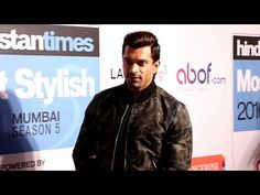 Karan Singh Grover at HT Most Stylish Awards 2016 red carpet.
