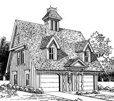 1000 images about house plans on pinterest french for Victorian garage plans