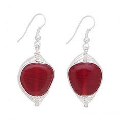 Rapt Heart Earrings - Jewelry - Products