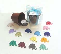 Items similar to 12 Fun Plantable Seed Paper Elephant Kids Birthday Party Favors - Zoo Safari Jungle Circus Animals - Boy Birthday - Girl Birthday on Etsy Toddler Party Favors, Party Favors For Kids Birthday, Birthday Parties, Party Favours, Kid Parties, Girl Birthday, Elephant Baby Boy, Elephant Birthday, Personalized Baby Shower Favors