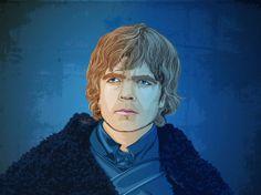 Tyrion Lannister – ein Lannister zahlt immer seine Schulden und sieht selbst als Pop Art Bild cool aus