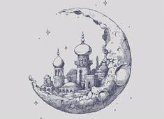 Moon City...? by x9lizzy9x on DeviantArt ~ Artemis Tattoo Design by Whammeh