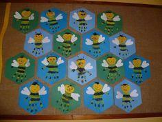handprint bee craft   Crafts and Worksheets for Preschool,Toddler and Kindergarten
