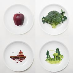 Anthology Magazine | Artists at Work | Hong Yi - Playing w/your food