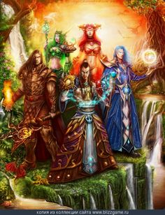 First Aspects of Azeroth by Xenia Keisinger  I Love this so much <3