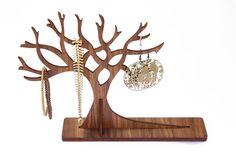 Gioielli in legno grande Display albero Stand di TheLaserCo