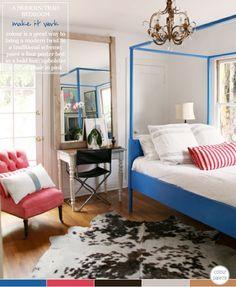 Colour Palette: Trad Meets Modern Bedroom – Bright.Bazaar