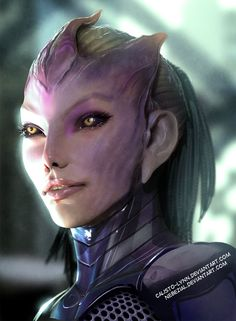 Tali by Nebezial. I love this concept, so different but still keeping an attractive human appeal