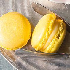 Macarons au citron - Zitronenmacarons Rezept | Küchengötter