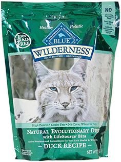 Blue Buffalo Wilderness Grain Free Dry Cat Food Duck Recipe 2Pound Bag *** Read more reviews of the product by visiting the link on the image.