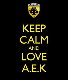 AEK keep calm