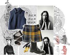 """Teenage angst."" by rrrudyjeann ❤ liked on Polyvore"