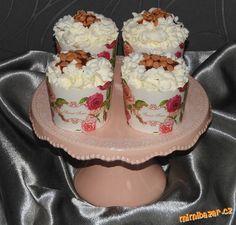 cup cake s karamelem