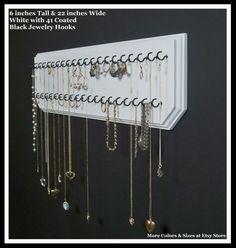 Hanging Jewelry Organizer Necklace Holder Display Rack