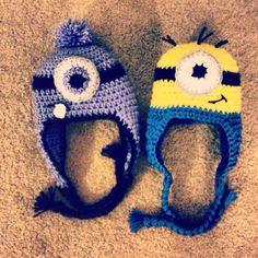 Minion Inspired Hat. Willow&Mason Crochet