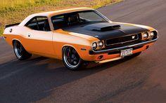 1970 Dodge Challenger Xv Front Passenger Side View