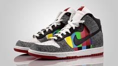 hot sale online 0351e 014a4 Custom  Channel Zero  Nike Dunks New Trainers, Nike Sb Dunks, Jordan 1