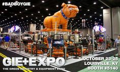 Join Bad Boy Mowers at the Green Industry & Equipment Expo (GIE+EXPO) October 23-25 in Louisville, KY. The GIE+EXPO is the largest trade show for outdoor power equipment, lawn and garden equipment, light construction and landscape equipment. Located at the Kentucky Expo Center in Louisville, Kentucky, GIE+EXPO features new products, education and an outdoor demonstration area.