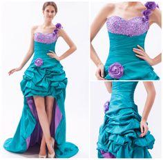 A-line High Low Dresses  $179.49
