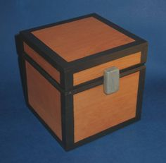 Wooden Chest - Minecraft-inspired Working Prop And Storage (medium) - Toy Chest…