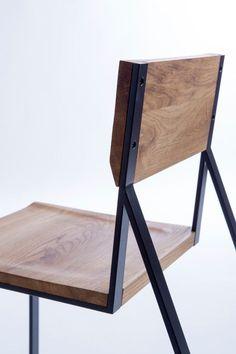 the K1 chair by Marta Adamczyk of design studio Moskou #IndustrialChair