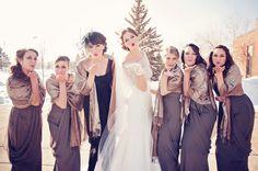 Blowing kisses! Photo by Sarah M.  #weddingphotographerMinnesota   #bridesmaids