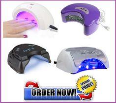 LED nail lamps for gel nails. Here you can find best offers available online